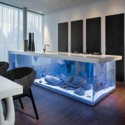 Морской аквариум барная стойка