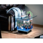 Морской аквариум в столе